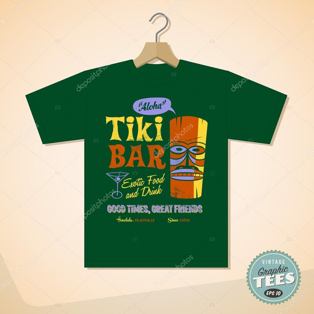 6827ba53d0 Vintage grafikus T-shirt design — Stock Vektor © RealCallahan #88680234