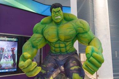 Large model of the hulk