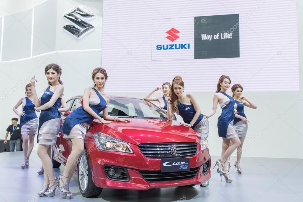 Unidentified Model With Suzuki Car At Thailand International Motor