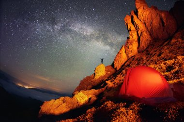 Tent and the Milky Way