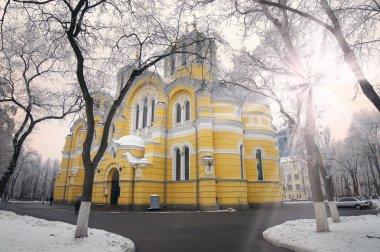 Vladimirskiy temple monument