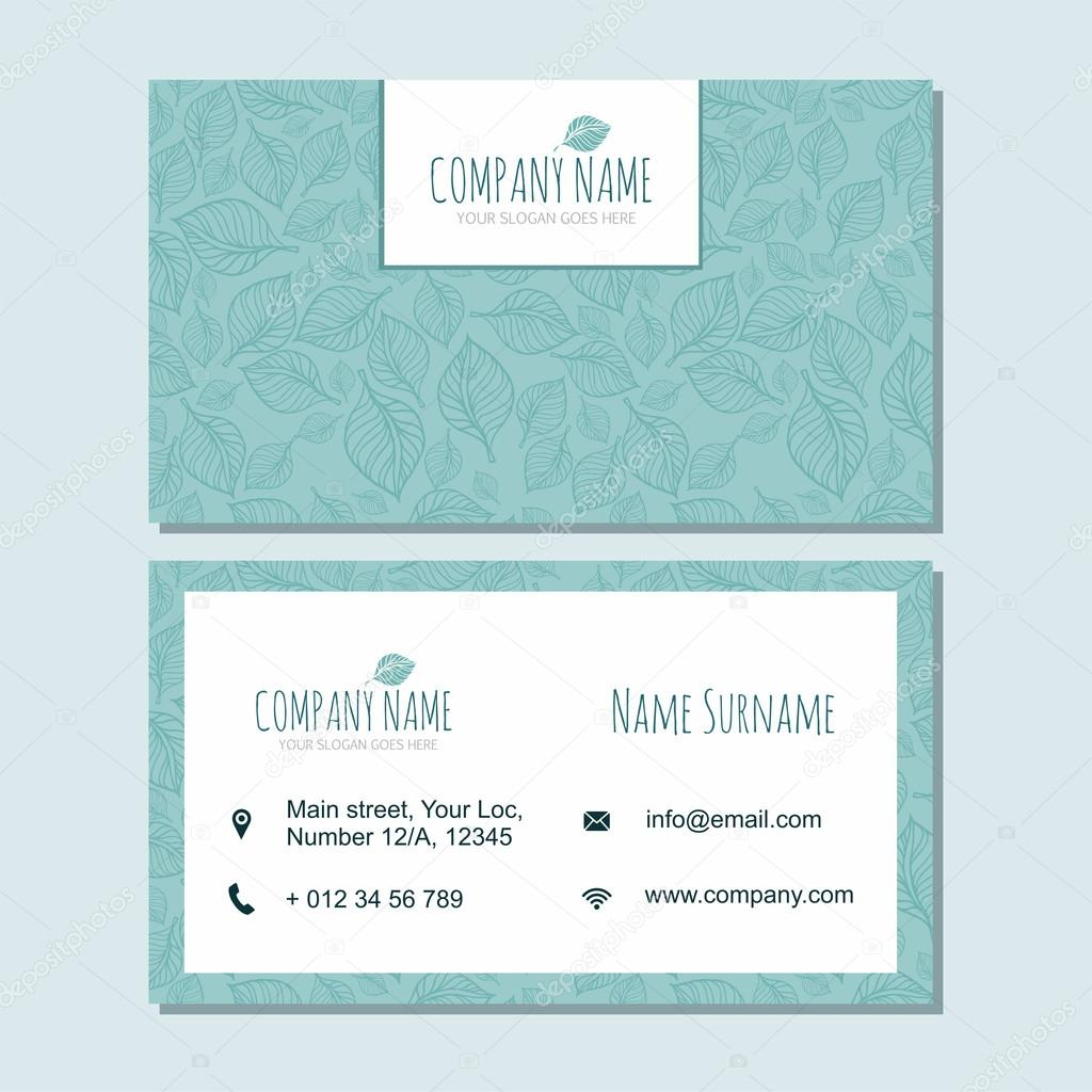 visiting card business card template