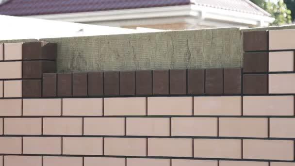 Výstavba domu z cihel