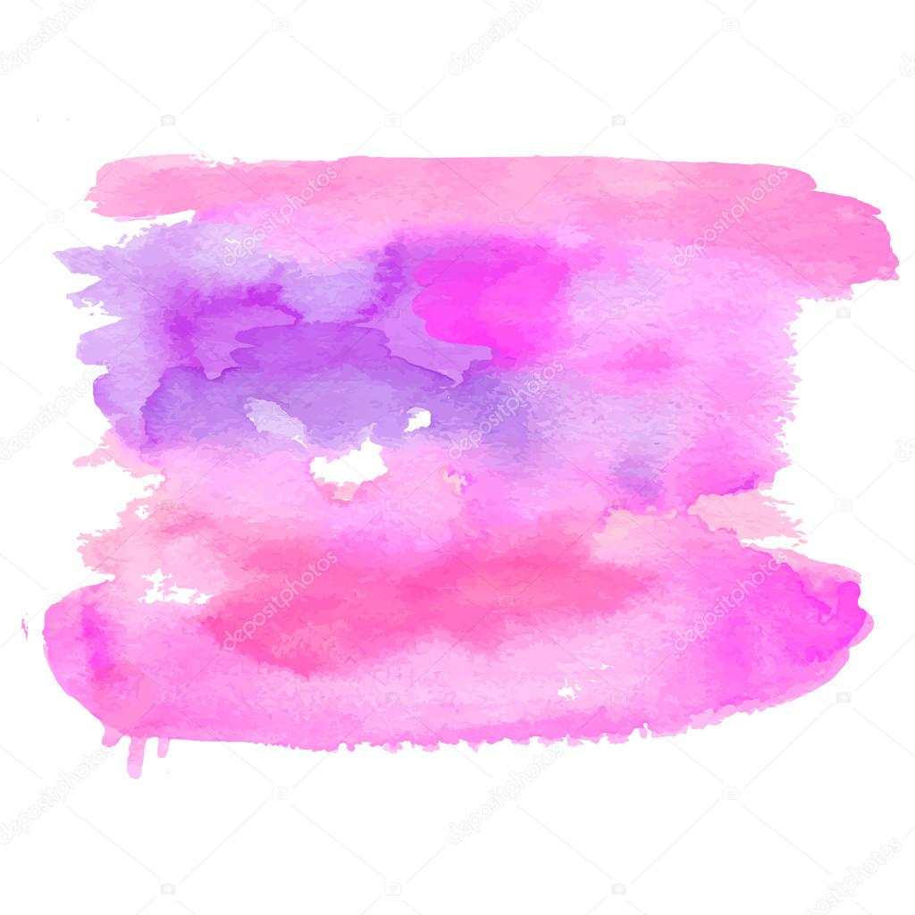 watercolor brush background texture vector illustration backstage