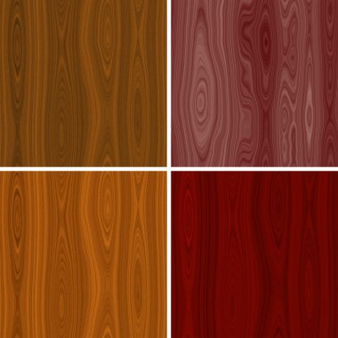 Set of wood seamless texture