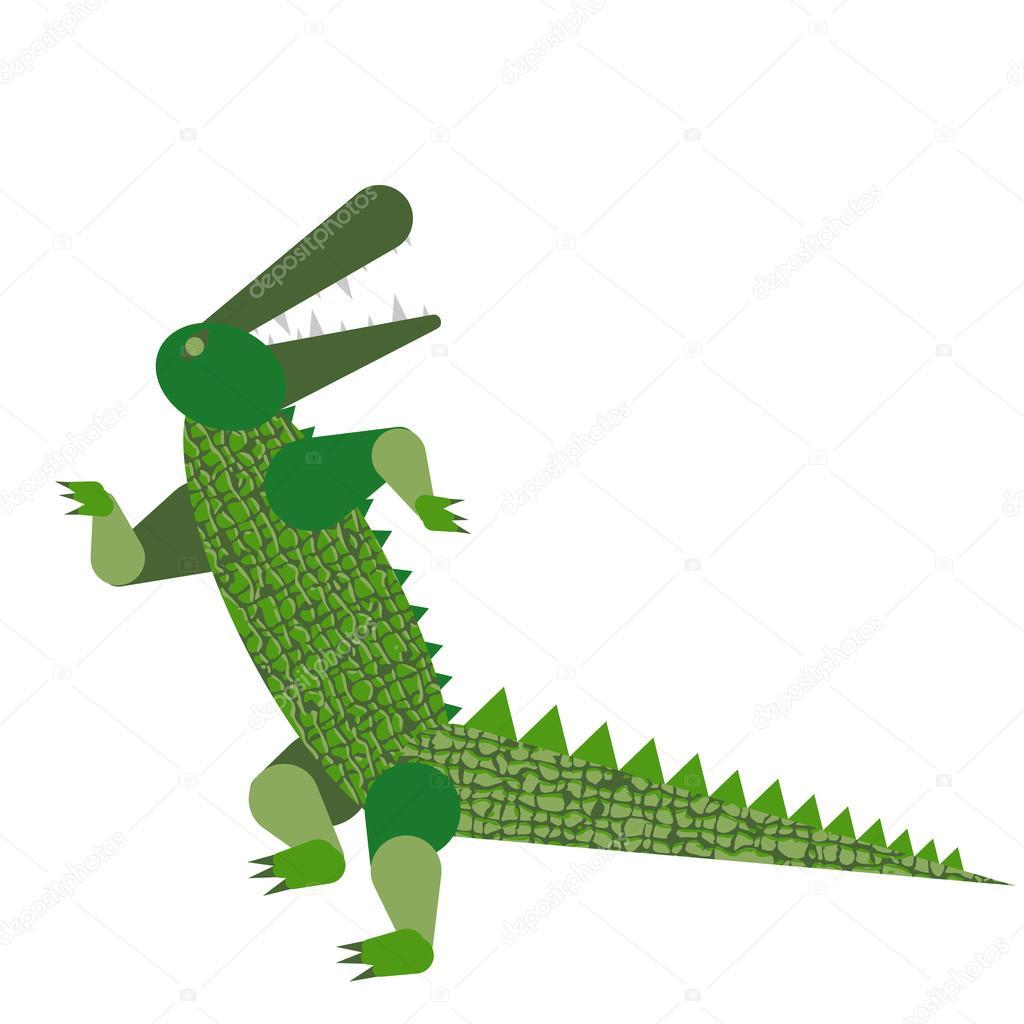 танцующий крокодил картинки его была