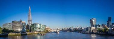 Panoramic skyline shot of London, UK