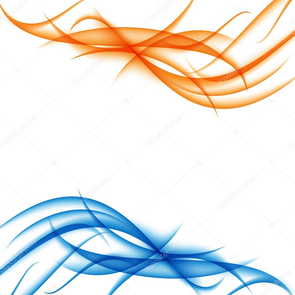 Blue and orange funky waves abstract background vector illustration blue and orange funky waves abstract background vector illustration stock vector altavistaventures Images