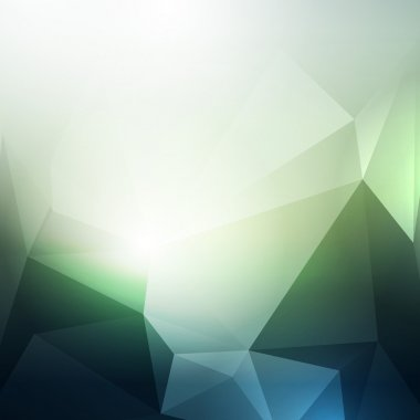 modern abstract background with polygons
