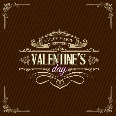 Beautiful valentine background.