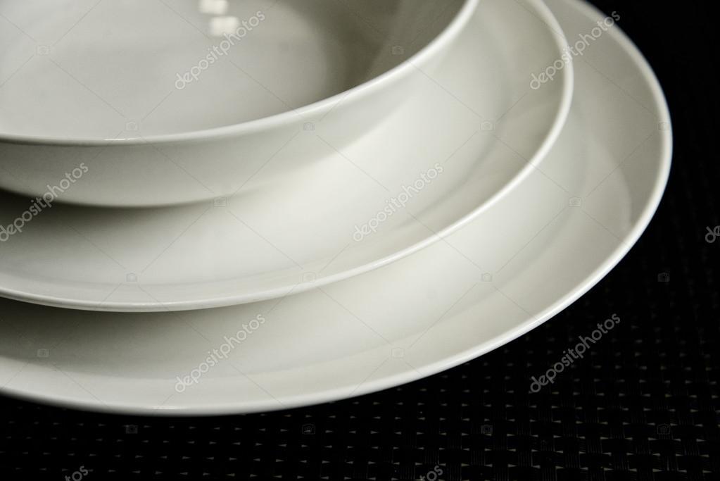 Accessori per la cucina design moderno - piatti lay — Foto Stock ...