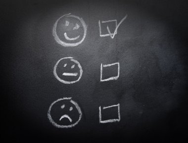 Smiley or Sad Checkboxes on Blackboard