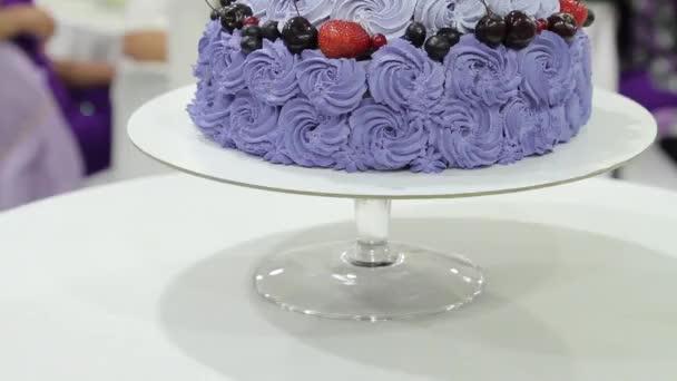 detail svatební dort