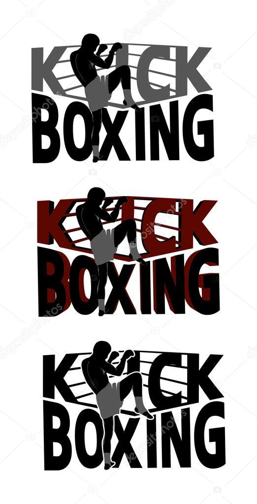 kick boxing logo stock vector sojusm 89000356 rh depositphotos com logos kickboxing logos kickboxing