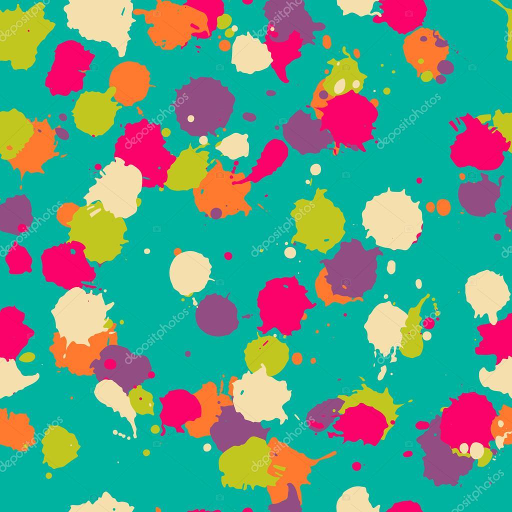 Patrón de blot transparente de vector en psychedelic. Diseño ...