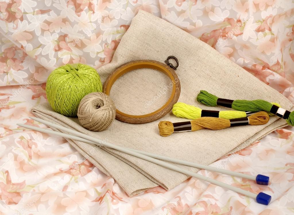 инструменты и материалы для Handamde и ручная работа шитье