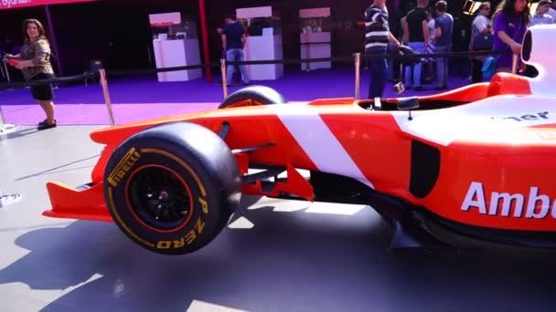 závodní vůz rallye Formule 1