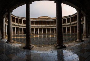 Palacio de Carlos V at Alhambra of Granada