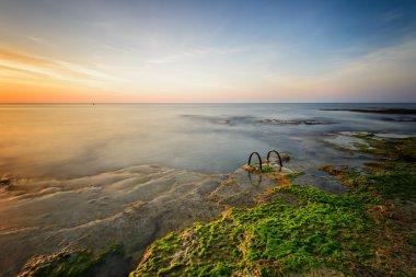 Rocky sea coast in Spain