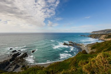Atlantic ocean panoramic view