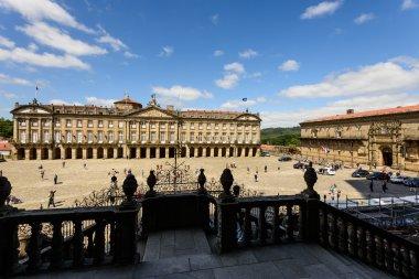 Santiago de Compostela town, Spain