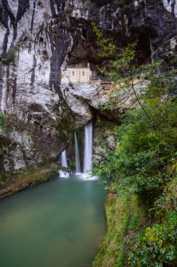 Holy Cave of Covadonga, Spain