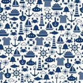 Fotografie Marine nahtlose Muster für die Tapete, Gästebuch und anderen design