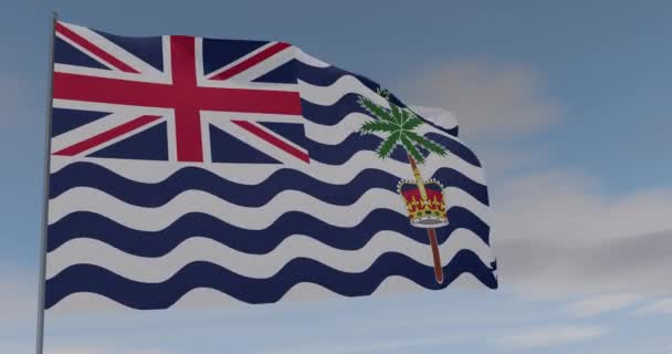 vlajka Britské území Indického oceánu vlastenectví národní svoboda, bezešvé smyčky, alfa kanál