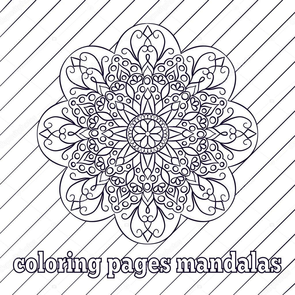 Coloring Pages For Adults And Older Children Patterns Flowers Mandalas Islamic