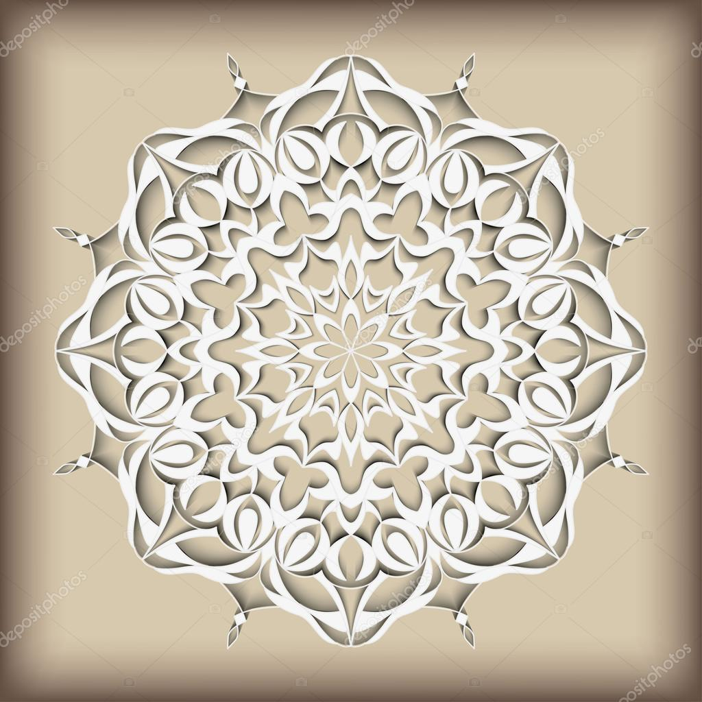 Mandala vintage pattern hand drawn abstract decorative ornament can be used for banner invitation wedding card greeting card and others royal vector design element islamic arabic indian ottoman motifs stopboris Gallery