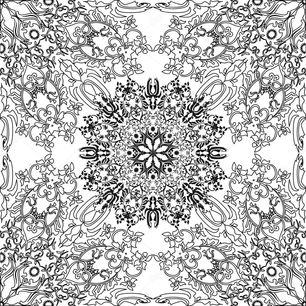Coloring pages for adults and older children. painting, mandala ...