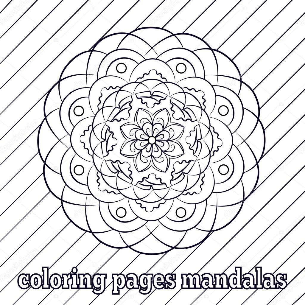 Islamitische Kleurplaten.Kleurplaten Voor Volwassenen En Oudere Kinderen Schilderij Mandala