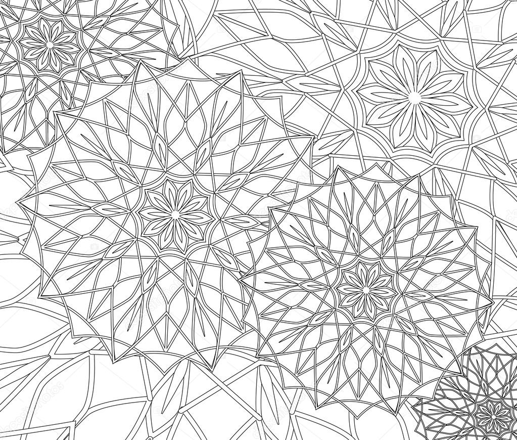 Coloring pages for adults and older children. painting, coloring ...