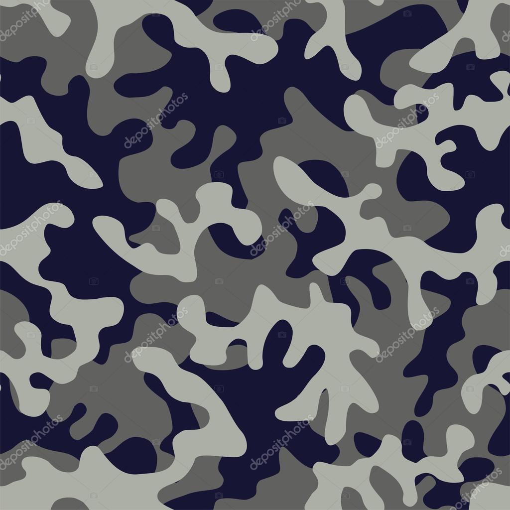 camuflaje militar en color gris azul — Vector de stock © berry2046 ...