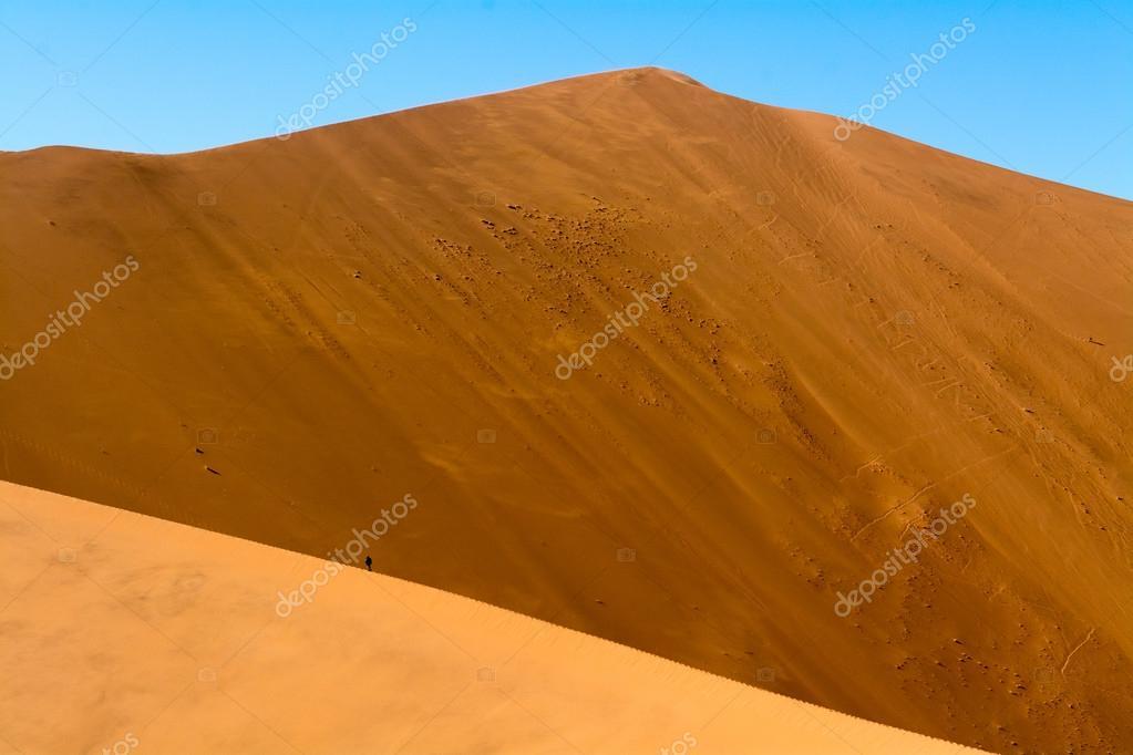 Scenery of the dunes of sossusflei