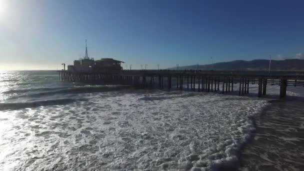 Pohled na krajinu Santa Monica Pier