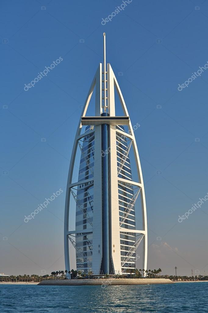 Luxury Hotel Burj Al Arab In Dubai Stock Editorial Photo