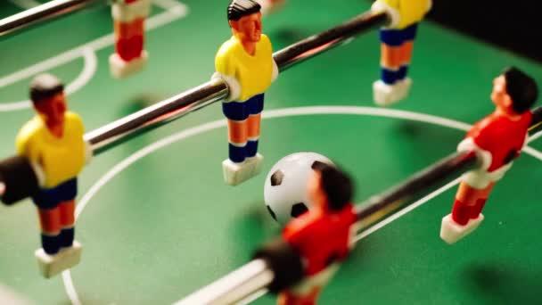 Kickerspiel in Aktion