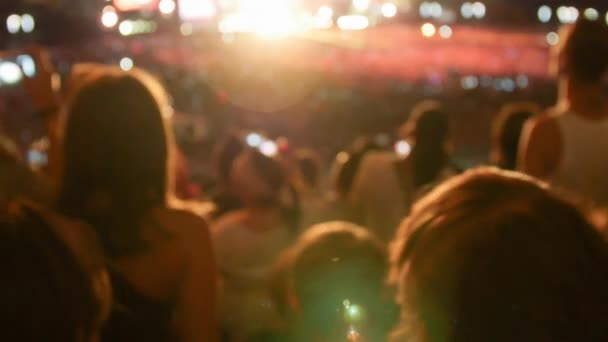 Takže strana dav na koncertě