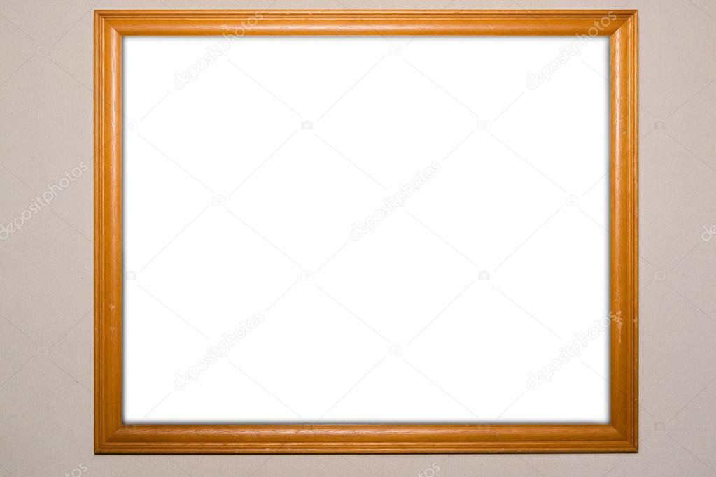 Blank signboard template for text on the wall. — Stock Photo ...