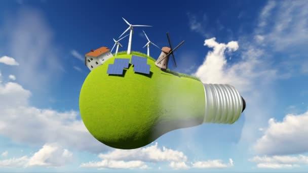 Nápad, žárovky. Alternativní energie