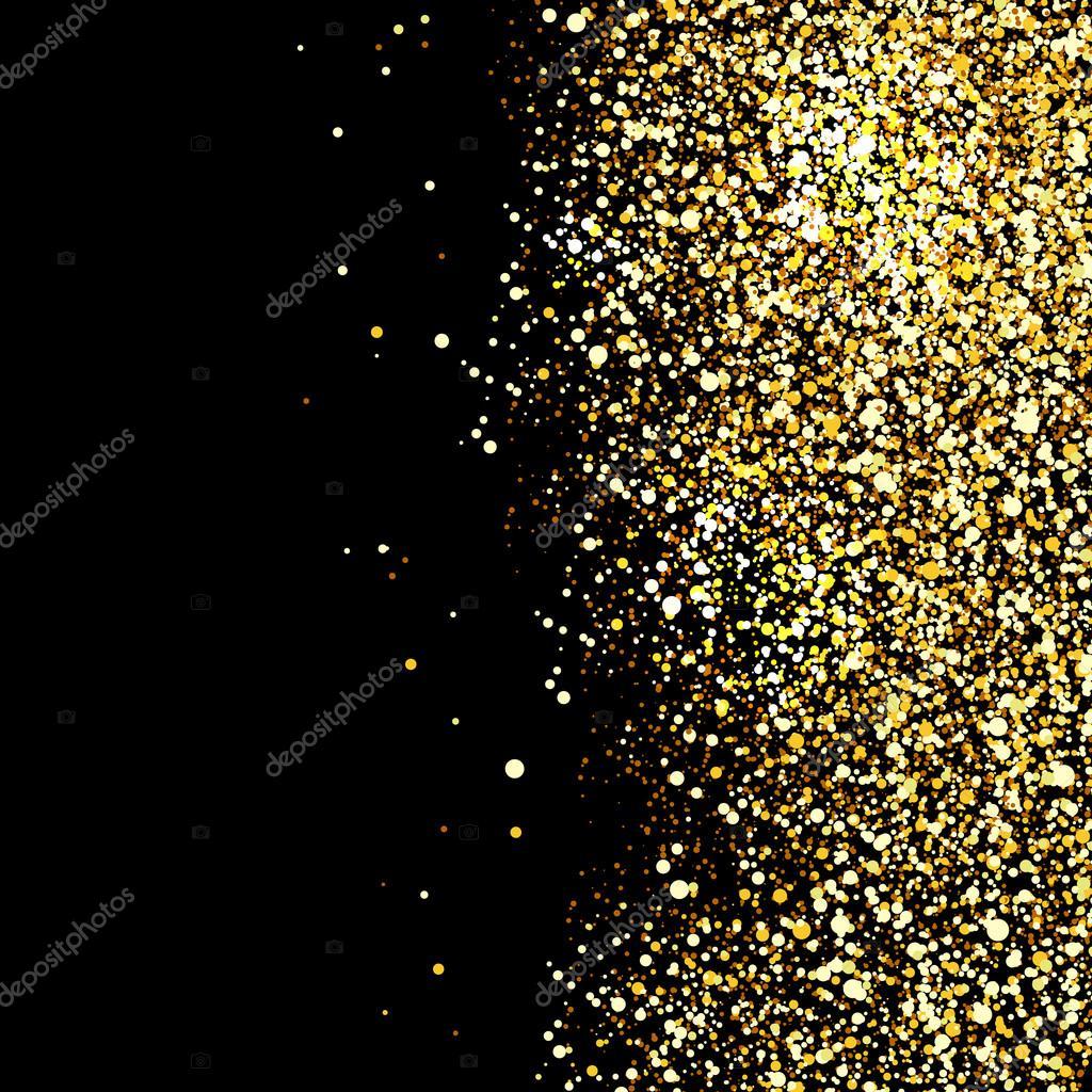 black background with gold sparkles wwwpixsharkcom