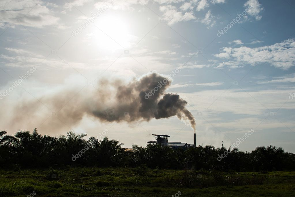 Air pollution on natural