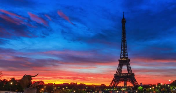 Efffiel tower at Dawn, Paris