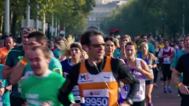 London -running half Marathons events at London with Admiralty Arch in background