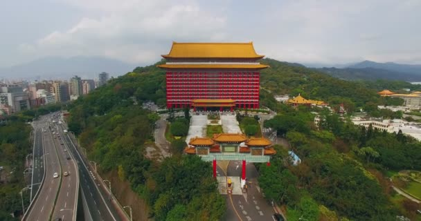 Aerial Shot Of Grand Hotel In Taipei Video By C Fenlio Stock Footage 104664020
