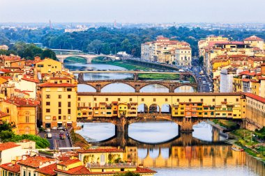 Florence or Firenze sunset, Italy