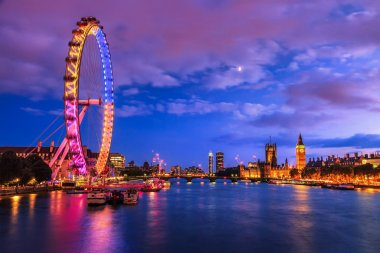 City of Westminster Day to night