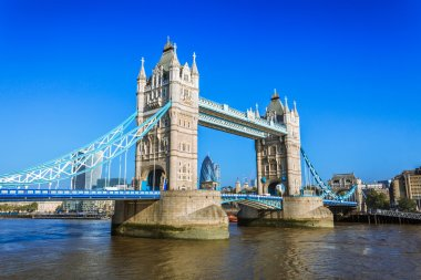 Tower bridge with sunny day in London