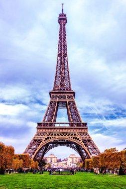Eiffel Tower, Paris in Autumn
